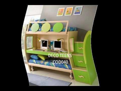 Decoracion de cuartos para jovenes y espacios pequenos - Habitaciones para jovenes ...