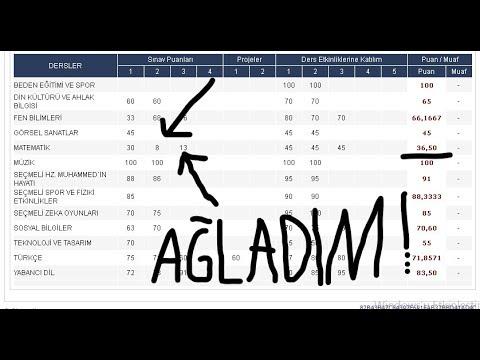 TEŞEKKÜRÜ 0.01 PUANLA KAÇIRMAK!!(AĞLADIM GERÇEK)
