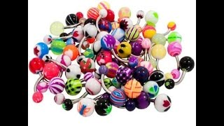 Belly button ring collection