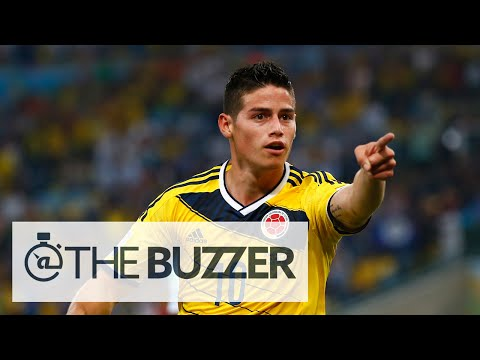 James Rodriguez Joins Real Madrid on 6-Year Deal - @TheBuzzeronFOX