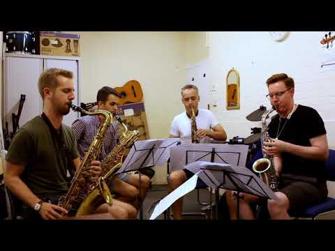 Out of the Dawn - Michael McQuaid Saxophone Quartet thumbnail
