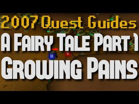 Runescape 2007 Quest Guides: Fairy Tale Part 1: Growing Pains