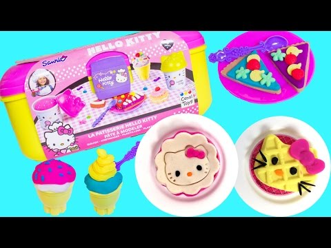 Hello Kitty Patisserie Dough Set Play Doh Hello Kitty Pastry Shop Cupcakes Cakes Cookies
