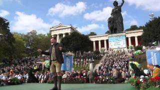 Wiesnchef Josef Schmid - Deutschmeister Regimentsmarsch @ Standkonzert Der Wiesn-Kapellen 2015