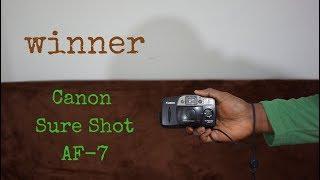 Canon Sure Shot AF-7 | Film Camera Giveaway Winner!