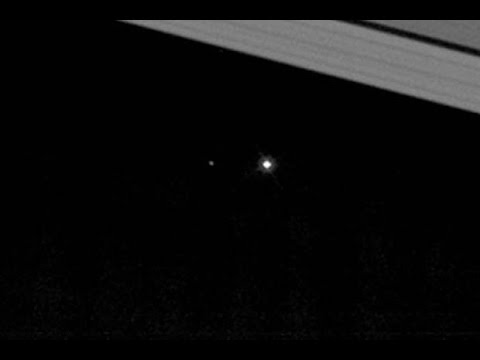 Earth As Seen From Saturn - Cassini Probe 'Looks Back'   Video