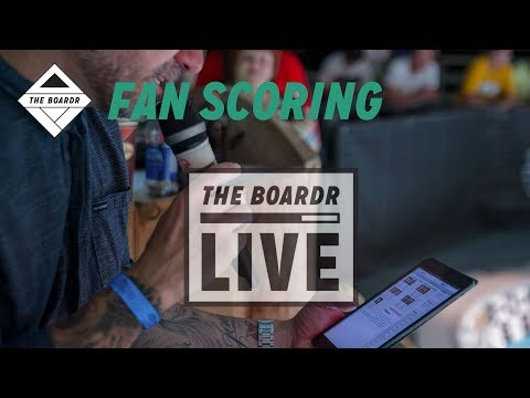 Fan Scoring: The Boardr Live Skateboarding and Action Sports Scoring System