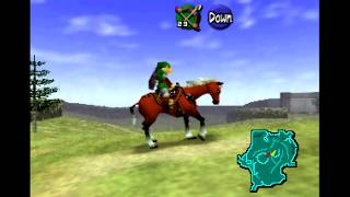 The Legend of Zelda: Ocarina of Time (N64) - Part 21 - Getting the Horse Epona