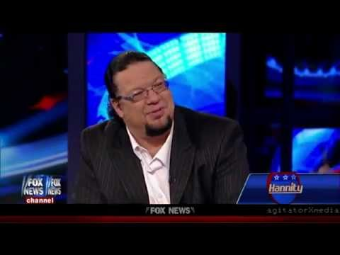 Penn Jillette: Voting For Lesser Of Two Evils Always Leads To More Evil