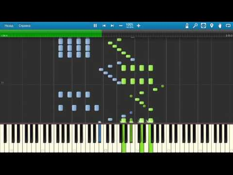 Saint-Saëns - The Carnival of the Animals - Finale. Piano (Synthesia)