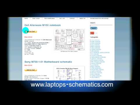 Motherboard schematic & Block Diagrams, Laptop / Notebook Schematics For Repair
