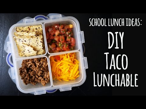 Lunchables Taco Diy Taco Lunchable Healthier