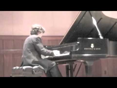 Benjamin Hopkins plays Prokofiev Toccata
