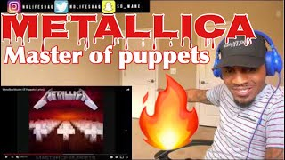 Metallica-Master Of Puppets | REACTION