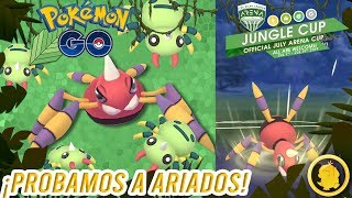 ¡ARIADOS en la JUNGLE CUP!-Pokémon Go PvP