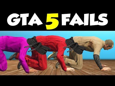 GTA 5 FAILS & WINS #12 // (GTA V Funny Moments Compilation)
