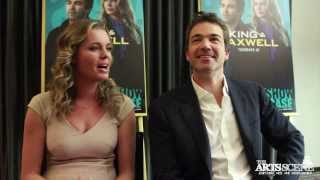 Rebecca Romijn and Jon Tenney chat about 'King and Maxwell' - Interview
