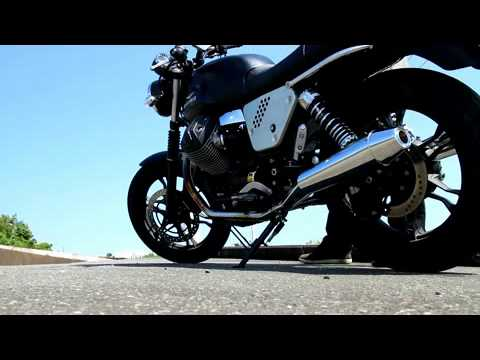 MOTO GUZZI V7 EXHAUST SOUND