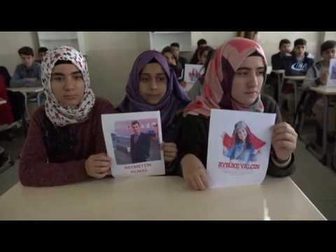 Şehit Aybüke ve Necmettin Öğretmen Türküler İle Anıldı