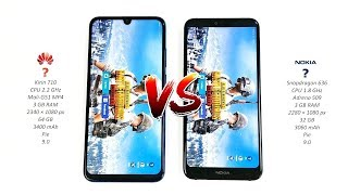 Huawei P Smart 2019 vs Nokia 7.1 - Speed Test!