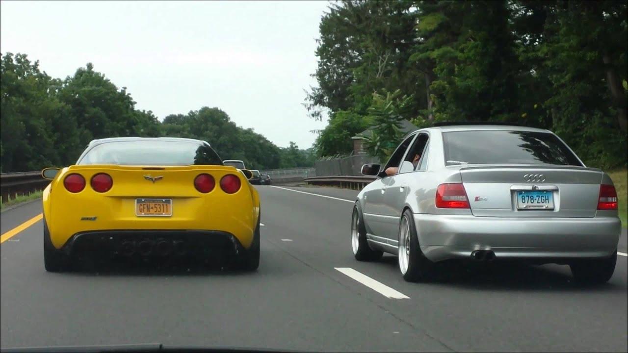 Corvette Vs B5 Audi S4 Youtube