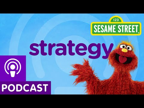 Sesame Street: Strategy (Word on the Street Podcast)