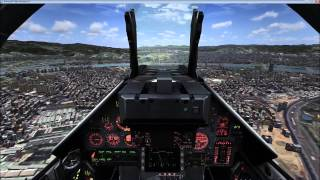 FSX metal 2 mesh mirage 2000C LAND RCSS 10 RWY