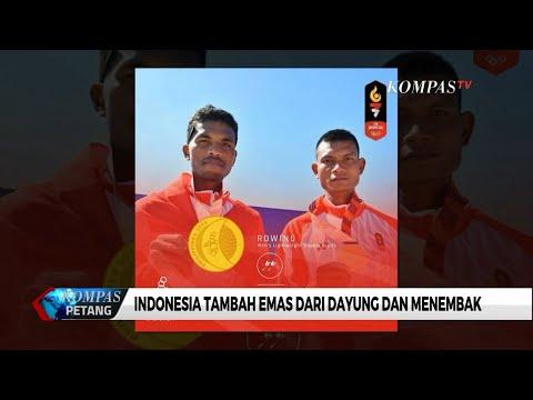 Keren! Indonesia Tambah Emas Lagi di SEA Games 2019 Cabor Dayung dan Tembak