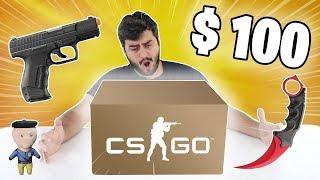 ABRINDO UMA CAIXA MISTERIOSA DE $100 DO CS:GO !!!