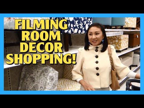 Filming Room Decor Shopping!