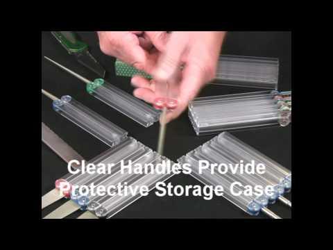 Video of Diafold® Serrated Knife Sharpener Models