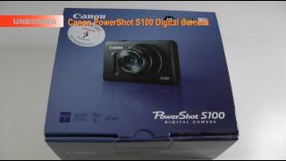 Canon PowerShot S100 Unboxing & First Look