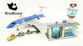 Lego City 60104 Airport Passenger Terminal - Lego Speed Build