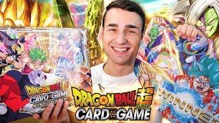 CARTE IN ITALIANO, ULTIMATE BOX e TAPPETINI di Dragon Ball Super Card Game   Pack Opening Ita
