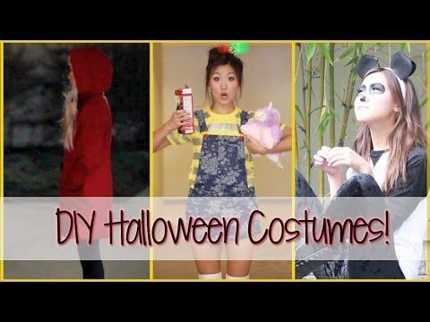 3 Last Minute DIY Halloween Costumes!   ilikeweylie