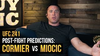 What happens after Daniel Cormier vs Stipe Miocic?