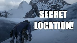 Unknown HIDDEN SECRET Inside the Glacier in Red Dead Redemption 2!