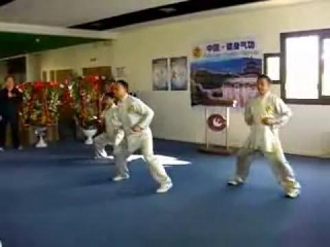 Ejercicio de Qigong: Ba Duang Jin. Los Ocho Brocados de Seda.
