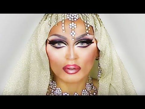 Dramatic makeup transformations