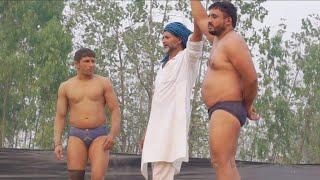 जगावर सिंह Vs प्रवीन पहलवान कुश्ती दंगल माहा मुकाबला घाना सहरानपुर उत्तर प्रदेश