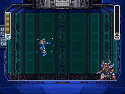 Misc Computer Games - Mega Man X - Boomer Kuwanger