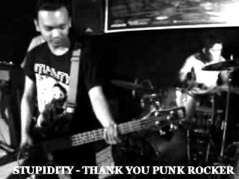STUPIDITY - THANK YOU PUNK ROCKER