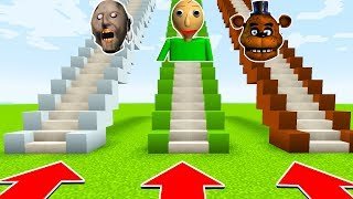 DO NOT CHOOSE THE WRONG STAIRS(BALDI BASICS,GRANNY,FREDDY FAZEBEAR)(Ps3/Xbox360/PS4/XboxOne/PE/MCPE)