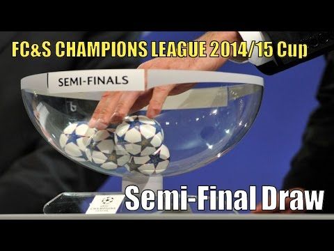 SEMI-FINAL DRAW ⚽️ Football Cards & Stickers UEFA CHAMPIONS LEAGUE 2014/15 CUP ⚽️ Panini