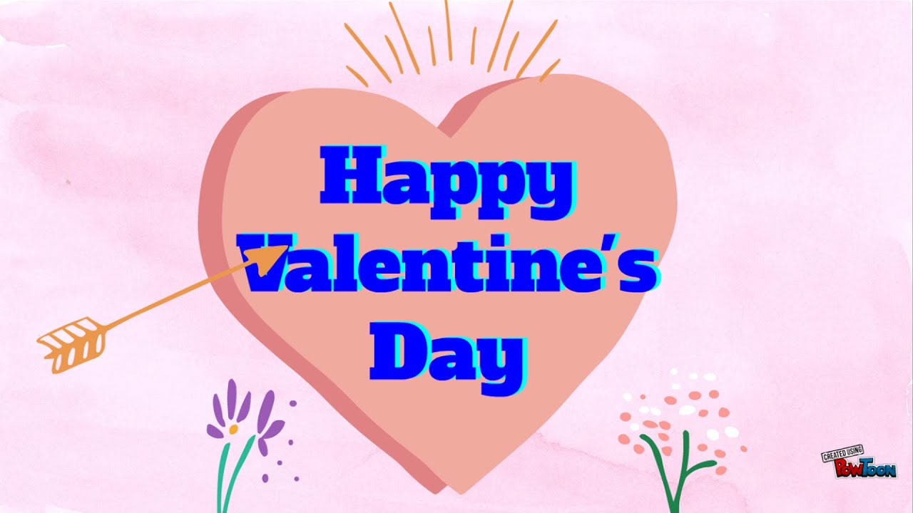 Happy Valentines Day Cards, February 14 2018 - YouTube
