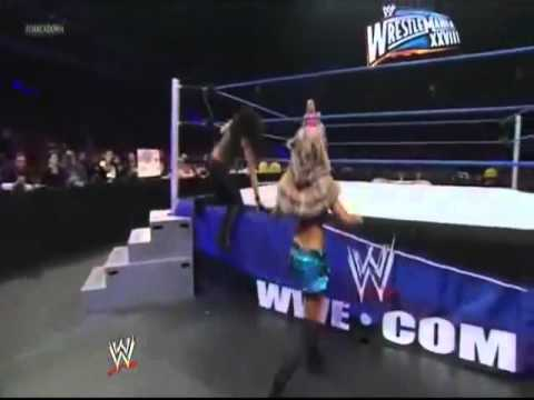 Wwe Diva Alicia Fox Caught Touching Tamina's Ass video
