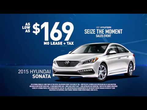 Seize the Moment Sales Event at Crenshaw Hyundai