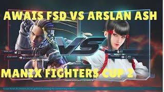 Tekken 7 Awais FSD(Bryan , Master Raven) vs Arslan Ash(Kazumi) ManiaX Fighters cup 2