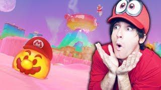 EXPLOTA EL VOLCAN! Super Mario Odyssey #10