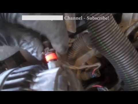 Alternator replacement Chevrolet Silverado 2000 - 2012 GMC Cadillac Install Remove Replace